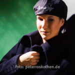 Porträt im Fotostudio