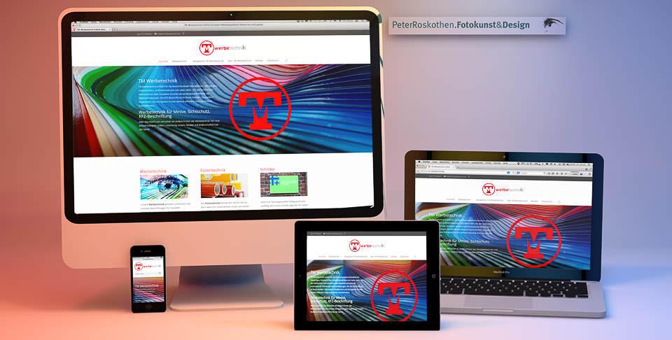 Responsive Webdesign Peter Roskothen - Webseite optimal auf jedem Bildschirm