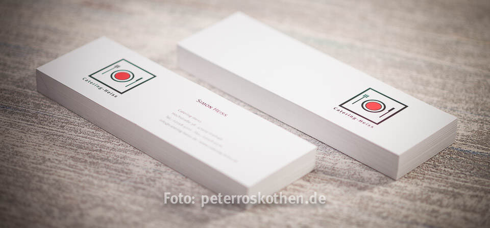 Visitenkarten mit Logo Design von Roskothen