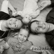 Familienfotos auf Keilrahmen / Leinwand vom Fotografen