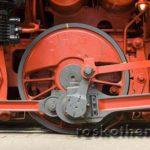 Rad einer Lokomotive