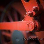 Antriebstaches einer Lokomotive