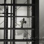 Blickwinkel, s/w-Foto