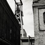 Zeche Zollverein, s/w-Foto