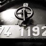 Lokomotive, s/w-Foto