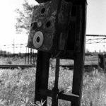 Schaltkasten, s/w-Foto Fotokunst Peter Roskothen