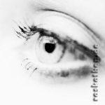 Auge der Dame