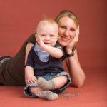 Familienfotos Mutter und Sohn