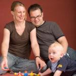 Foto Familie mit Kind - Peter Roskothen Fotograf Neuss