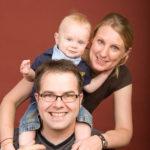 Die ganze Familie auf einem Foto Peter Roskothen Fotograf Ruhrgebiet
