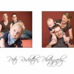 Ein Beispiel für eine Collage von Familienfotos Fotograf Peter Roskothen