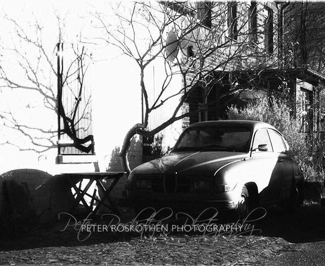 Der alte Saab – Infrarot Fotografie