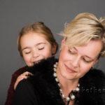 portrait mutter tochter - Familienfotos