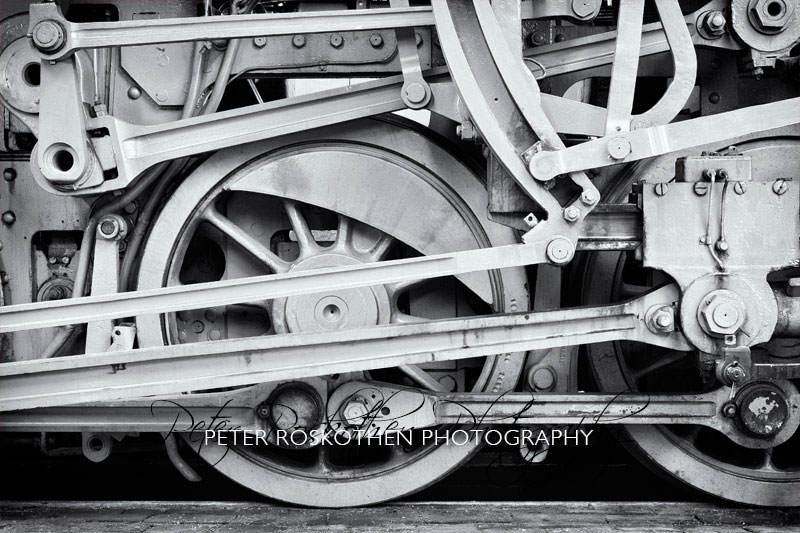 Eisenbahn Foto schwarzweiss Fotograf Peter Roskothen Fotokurs Fotoschulung