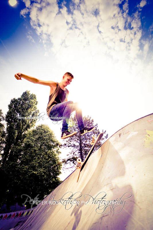 Actionfotografie Skater Fotograf Peter Roskothen Actionfotos