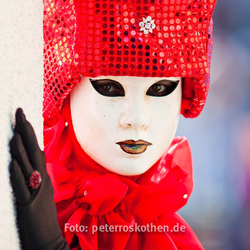 Karneval in Venedig, Fotograf Peter Roskothen