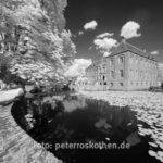 Schloss Schwarzweiss-Foto Fotoexkursion Kasteeltuinen Arcen NL