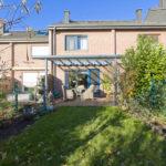 Foto Haus Rückansicht mit Garten für Verkauf der Immobilie