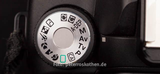 Fotokurs Canon mit Canon Fotorafieren Blichtungsprogramme