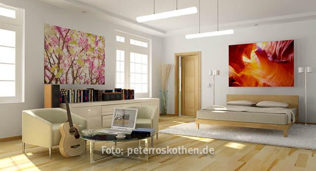 Urlaubsfotos entwickeln Abzüge Digital Foto Online - Urlaubsfotos als Poster an der Wand zu Hause