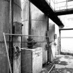verfallene Industriegebäude