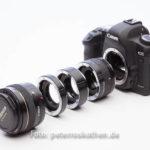 Digitale Kamera Makrovorsatz Zwischenringe
