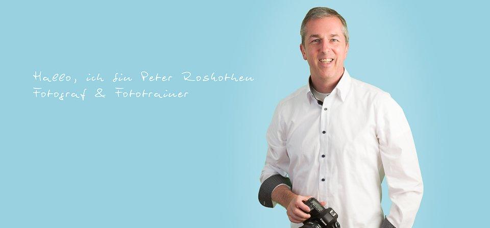 Fotograf, Fototrainer und Designer Peter Roskothen - Fotoschule Roskothen