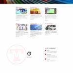 Die Webseite auf einem großen Bildschirm (PC oder MAC)