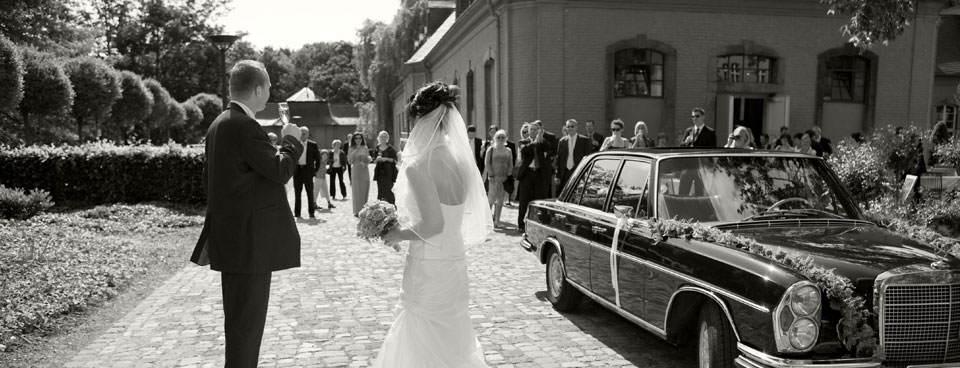 Hochzeitsfoto Schloss Wickrath