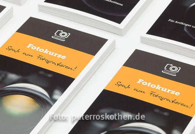 Neuer Flyer Fotokurse