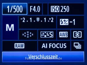 Fotokurs digitale Canon Kameras