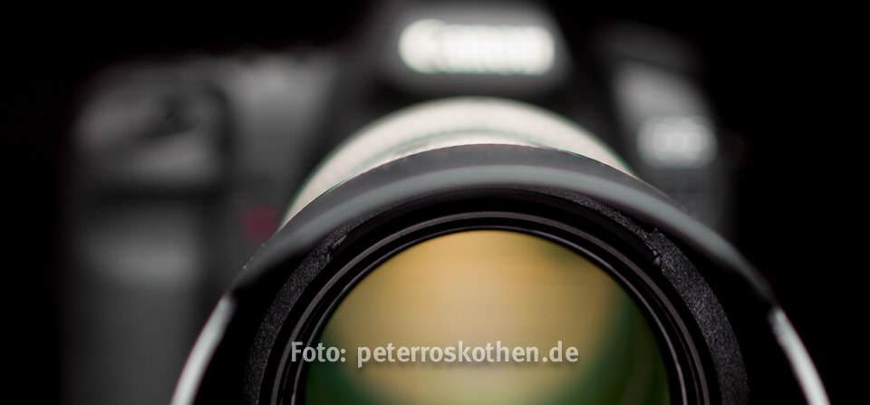 digitale Kamera, Fotokurs Spiegelreflexkamera