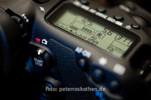 Canon Fotokurs EOS Kameras Spiegelreflexkamera