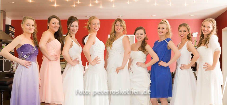 Hochzeitsfrisuren und Hochzeitskleider 2015 - Ballkleider