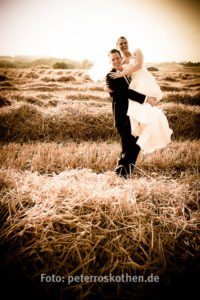 Variante: Sepiafarbenes Hochzeitsbild (auf Anfrage)