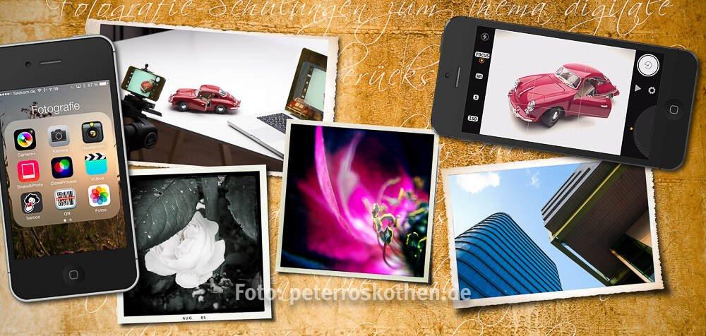 iPhone Fotokurs Fotoschule mit dem Apple Phone fotografieren lernen