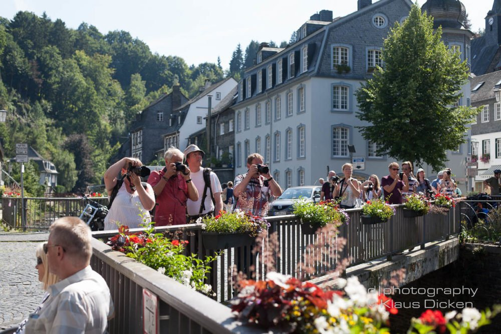 Monschau Fotoexkursion - Foto Klaus Dicken