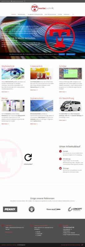 Besseres Webdesign Krefeld - Moderne Webseite im Responsive Design - Webdesign Roskothen