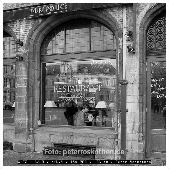 Restaurant Brugge - Foto des Tages - Peter Roskothen