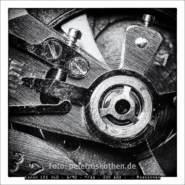 Makroaufnahme einer Armbanduhr – Foto des Tages – Peter Roskothen