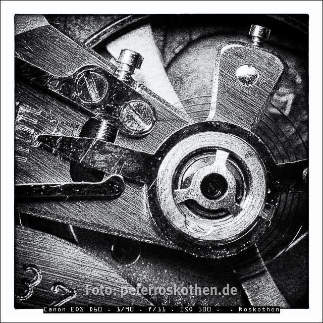Makroaufnahme einer Armbanduhr - Foto des Tages - Peter Roskothen