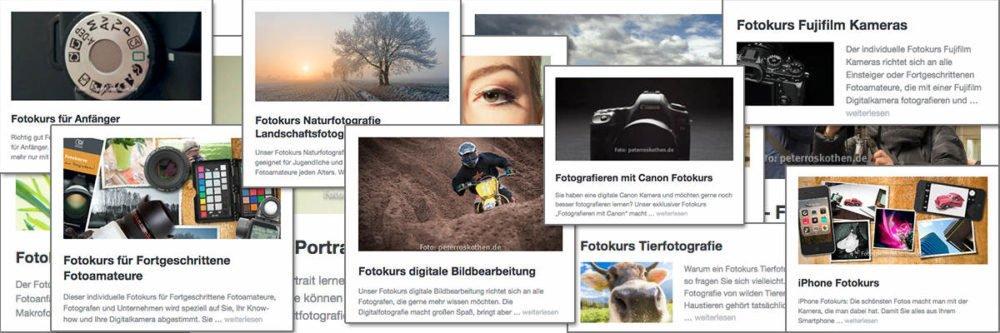 Die besten Fotokurse – Fotoschule Roskothen