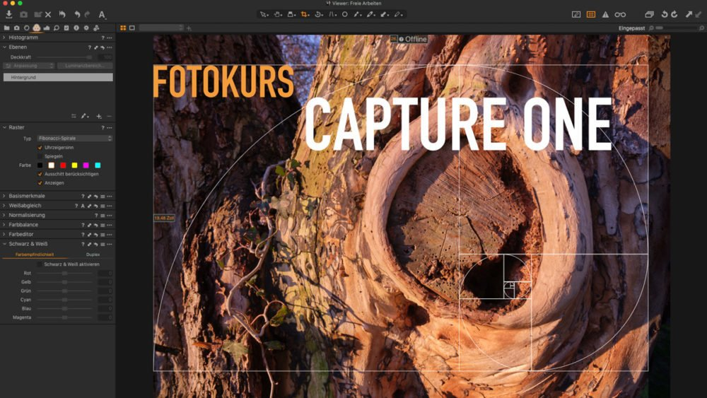 Fotokurs Capture One Bildbearbeitung