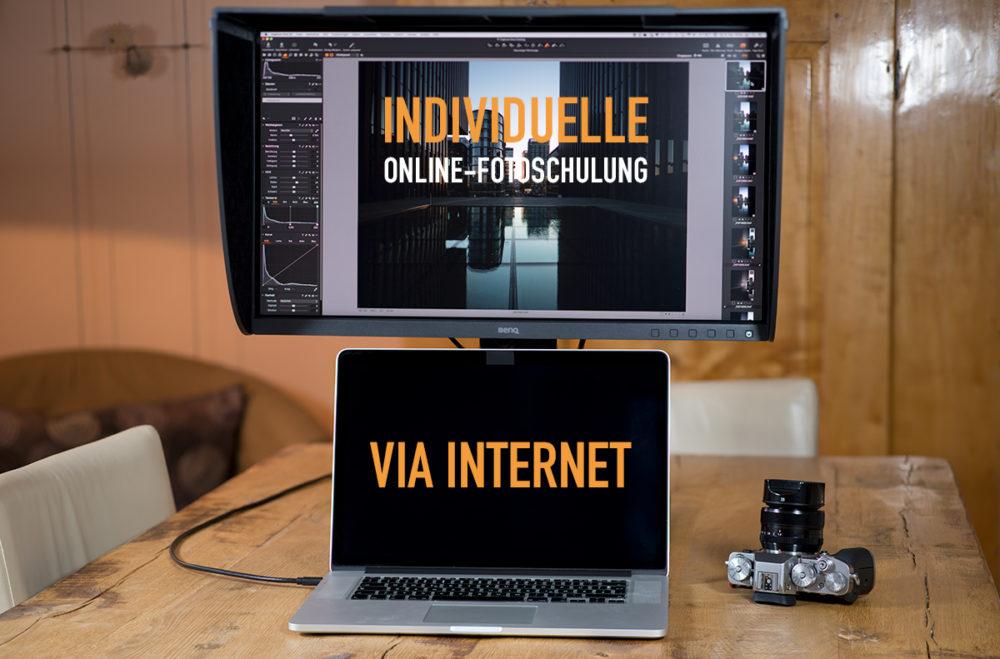 Individuelle Online-Fotoschulung via Internet